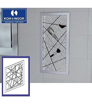 Koh-I-Noor TOOL040 Cornice Porta Oggetti in Alluminio