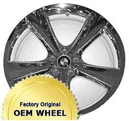 BMW X5,X6 21X11.5 5 SPOKE Factory Oem Wheel Rim- CHROME – Remanufactured
