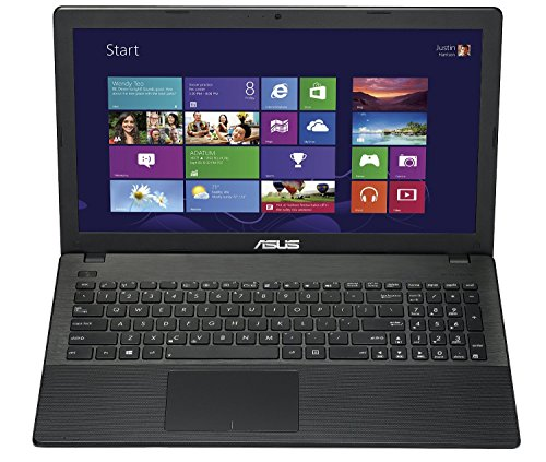 ASUS 15.6-Inch X551MAV-EB01-B(S) Intel Dual-Core Celeron 2.16 GHz Laptop, 4GB RAM and 500GB Hard Drive