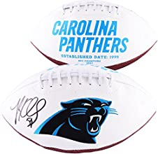 Luke Kuechly Carolina Panthers Autographed Logo Football - Fanatics Authentic Certified - Autographed Footballs