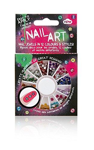 Nail Art Gem Wheel - Nail Jewels