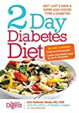 img - for 2-Day Diabetes Diet: Diet Just 2 Days a Week and Dodge Type 2 Diabetes book / textbook / text book