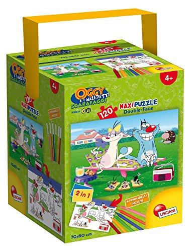 lisciani-giochi-52905-puzzle-in-a-tub-maxi-oggy-e-i-maledetti-scarafaggi-120-pezzi-multicolore