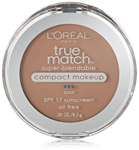 L'Oreal Paris True Match Super-Blendable Compact Makeup, Classic Beige, 0.30 Ounces