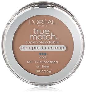 L'Oreal Paris True Match Super-Blendable Compact Makeup, Classic Beige, 0.30 Ounces