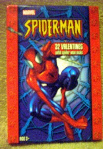 Spiderman 32 Valentines