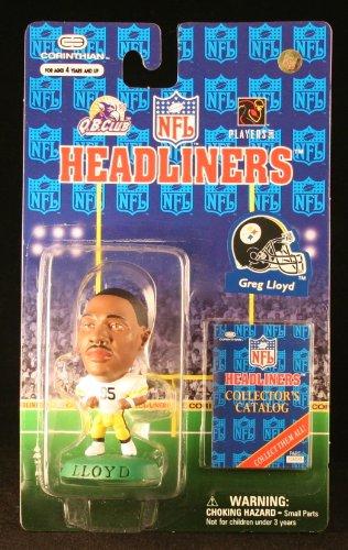 GREG LLOYD / PITTSBURGH STEELERS * 3 INCH * 1997 NFL Headliners Football Collector Figure