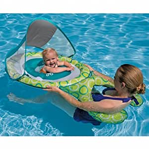 Swim Ways SwimWays Mommy & Me Baby Spring Float with Canopy