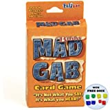 Bible Mad Gab Card Game w/ Free Rainbow Dice Pack
