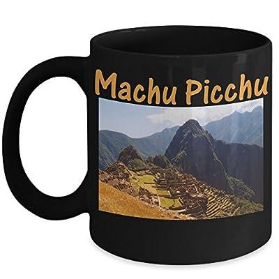 Peru Coffee Mug - Machu Picchu Huayna Picchu Ruins - Golden Sunrise Gift Idea