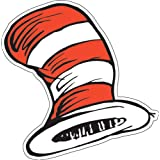 Eureka The Cat in the Hat 5-Inch Paper Cut Out Hats, Package of 36 (841300)