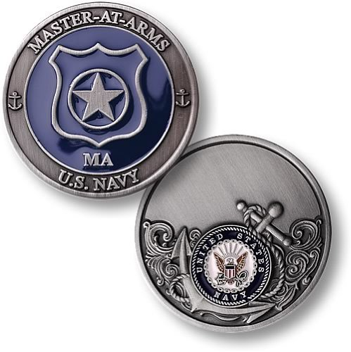 Northwest Territorial Mint Navy Master at Arms Enamel