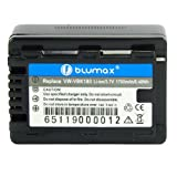 Blumax Li-Ion Battery for Panasonic VW-VBK180 VBK180 Fits HDC- HS80/SD60/SD80/SD90/TM80/TM90 SDR- H85/H100/S45/S50/S70