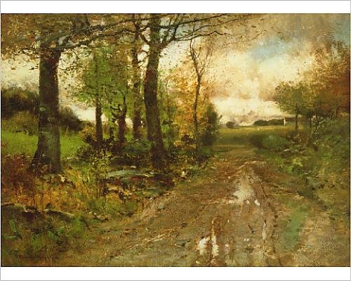 photographic-print-of-road-through-the-woods-oil-on-canvas
