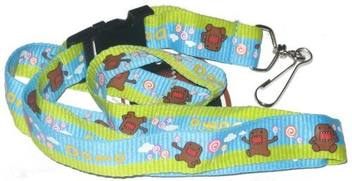Domo-Kun Lollipop Land Lanyard