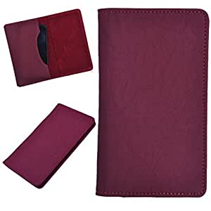 DCR Pu Leather case cover for Gionee Ctrl V2 (red)