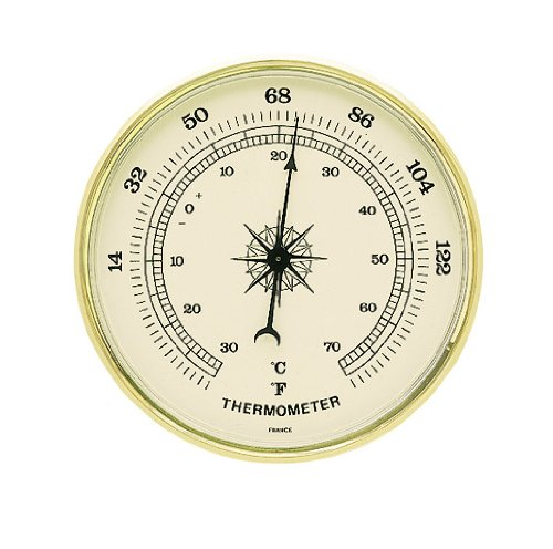 Standard Design Weather Instruments : Thermometer, 3 7/8