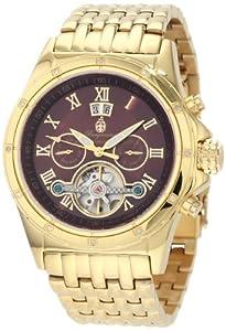 Burgmeister Men's BM127-249 Royal Diamond Automatic Watch