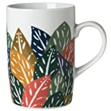 Flora and Fauna Leaf Mug