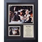 Legends Never Die Star Wars Action Framed Photo Collage, 11 by 14-Inch