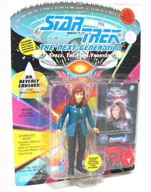 Star Trek the Next Generation Dr. Beverly Crusher with Silver Accesories - 1