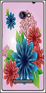 Snoogg Spring Flowers Designer Protective Back Case Cover For HTC Windows Phone 8S