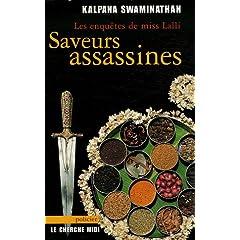 Saveurs assassines - Kalpana Swaminathan