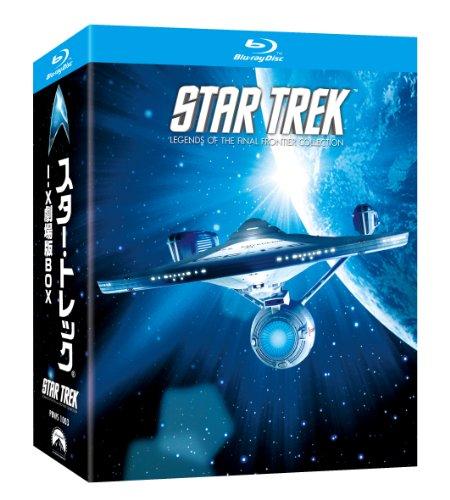 スター・トレックⅠ-Ⅹ 劇場版BOX [Blu-ray]