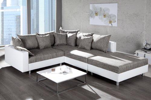 moderne wohnzimmer ideen grau geschickt kombinieren. Black Bedroom Furniture Sets. Home Design Ideas