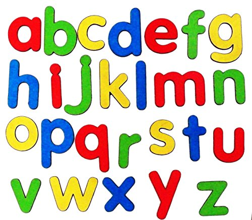 Mfm Toys Magnetic Wooden English Alphabets Lowercase Fridge