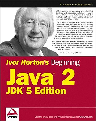 Ivor Horton's Beginning Java 2, JDK