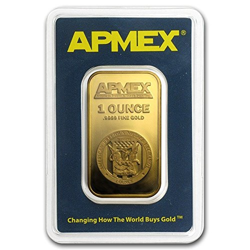 1 oz Gold Bar - APMEX (In TEP Package) + Presentation Box (Apmex compare prices)