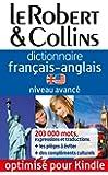 Le Robert & Collins - Dictionnaire fran�ais-anglais - Niveau avanc�