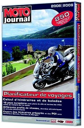 Moto Journal - Planificateur de voyages Edition 2008-2009