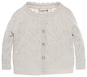 Noppies Kids G Cardigan Knit Ls Maud - Jersey de punto para niñas