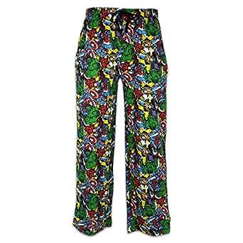 Mens Marvel Comics Lounge Pants   Marvel Comics PJ's   Medium