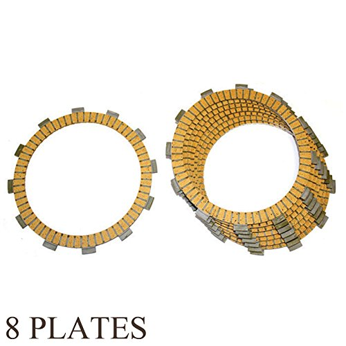 FRICTION CLUTCH PLATE KAWASAKI KZ750 KZ-750 KZ 750 LTD 1980 1983 1984 8-PLATES clutch friction