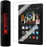 "Skinomi TechSkin - Amazon Kindle Fire HDX 8.9"" (Wifi + LTE) Screen Protector Ultra Clear Shield + Lifetime Warranty"