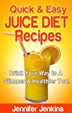 Quick & Easy Juice Diet Recipes - Drink Your Way to A Slimmer & Healthier You!