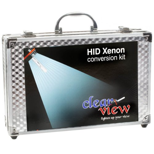 "Clear View HID Xenon Conversion kit ""With Slim Digital Ballast"" H4 L/H Halogen-5000K"