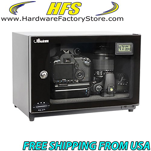 HFS (Tm) 25l Digital Control Dehumidify Dry Cabinet Box Lens Camera Equipment Storage (Dehumidify Box compare prices)