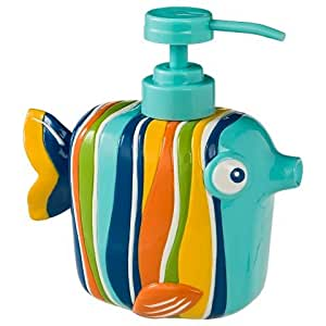 colorful high quality fish soap dispenser pump