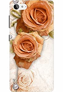 Lenovo Z2 Plus Cover, Designer Printed Back Case for Lenovo z2 plus / Floral / Pearl With Rose Design - By Noise