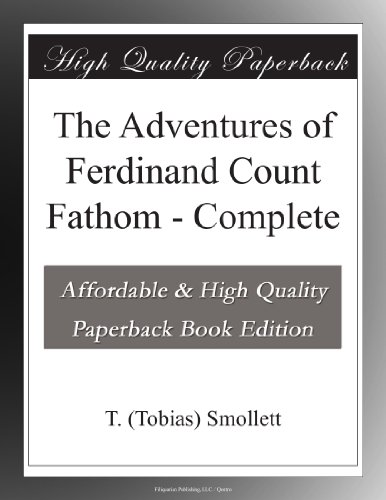 The Adventures of Ferdinand Count Fathom - Complete PDF