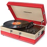 Crosley CR6003A-CR Echo USB-Enabled 3-Speed Turntable with Software Suite for Ripping and Editing Audio (Red & Cream)