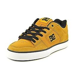 DC Men\'s Pure Sneaker,Wheat/Black,9.5 M US