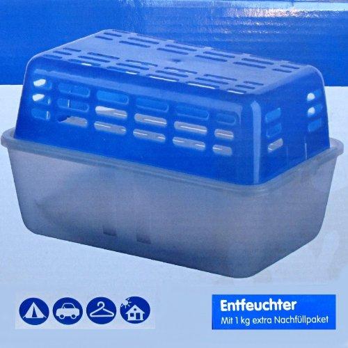 Luftentfeuchter 2x1kg Granulat Raumentfeuchter Feuchtigkeitskiller Dehumidifier