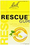 Bach Flower Essences Rescue Chewing Gum 17 Pieces [Health and Beauty]