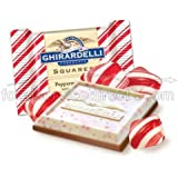 Squares Limited Edition Peppermint Bark Chocolate - 7.06 oz. box, 12 per case