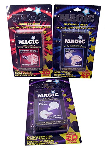 Magician Trick Card Deck Special - 3 Pack - 1